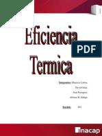 Eficiencia Termica