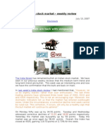 The Bulls Are Back - Weekly India Stock Report