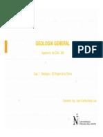 Clase I - Geologia