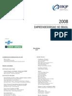 Empreendedorismo no Brasil em 2008