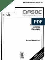 CIRSOC 303 - Estructuras Livianas de Acero