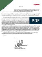 Raytheon 2013 Proxy Statement