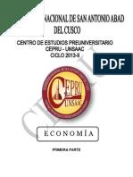Cepru Unsaac Cusco Economia 2013-II-1ra Parte