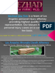 Los Angeles Personal Injury and Car Accident Attorney