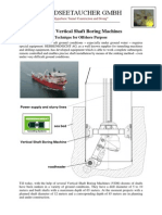 Vertical Shaft Boring Machines