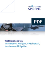 Test Solutions for Interference Anti-jam