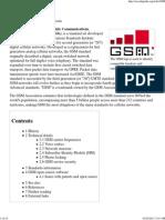 GSM - Wikipedia, The Free e..