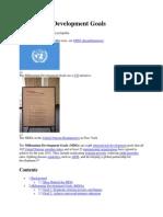 Millennium Development Goals.docx