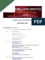 GOING LEAN II Programa