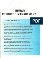 Chapter 09 - Project Human Resource Management