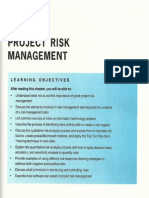 Chapter 11 - Project Risk Management