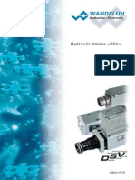 Hydraulic Valves «DSV»