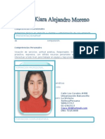 Alejandro Moreno Lidizeth Kiara