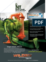 Wilden's Pro-Flo® SHIFT Green Flyer