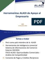 Herramientas Virtuales ALADI - Oportunidad Para Las PYMES en America Latina