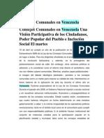 Consejos Comunales en Venezuela