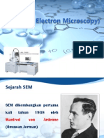 SEM (Scanning Electron Microscopy)
