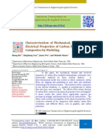 Characterization of Mechanical, Thermal, and Electrical Properties of Carbon Fiber Polymer Composites by Modeling