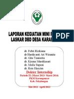 Laporan Mini Project LASKAR Dbd