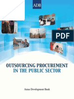 Outsourcing Procurement in the Public Sector