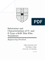 Fabrication and