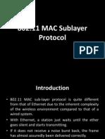 The MAC Layer