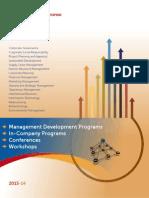 MDP Brochure 2013-14