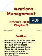 Operations Management (OPM530) -C3 Product Design