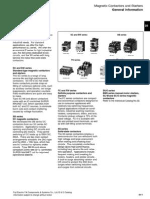 FUJI CONTACTOR SC-0 13 SC13AA 200-220V COIL w// SZ-ZM2 /& SZ-Z5