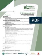 Programa eLIES 2013