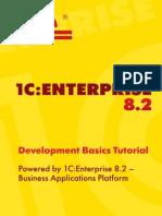 1C:Enterprise 8.2  Development Basics Tutorial