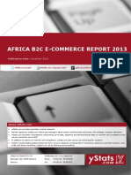 Brochure & Order Form_Africa B2C E-Commerce Report 2013_by yStats