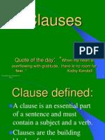 C-Clauses