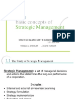 Chp001 Basic Concepts of Strategic Management