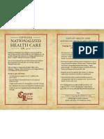 C4L Oppose National Health Care Color Flier