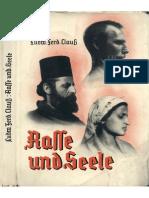 Rasse Und Seele(CLAUSS, Ludwig)