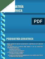 PSIQUIATRÍA GERIATRÍA