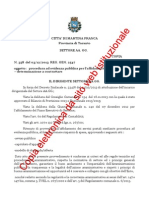 Determina Affidamento Servizi Postali Martina Franca