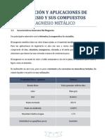 Informe de Obtencion de Compuestos de Magnesio