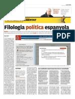 «Cop de Diccionari.» El Punt-Avui, 18/02/2013, núm. 12743, pp. 4-6.