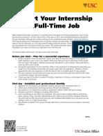 Convert Internships Into FT