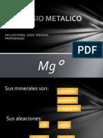 MAGNESIO METALICO