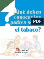 Que Deben Conocer Los Padres Sobre El Tabaco