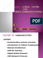 CH1-GSM – GLOBAL SYSTEM FOR MOBILE COMMUNICATION