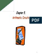 Chap5 Arithmetic Circuit