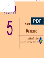 Bab 05 - Normalisasi Database