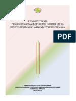 5.2 Pedoman Teknis Agroindustri Horti