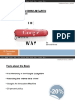The Google Way Book Analysis