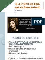Língua Portuguesa I Unidade