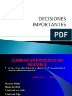 Decisiones Importantes 2013 II
